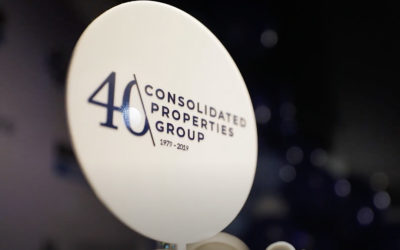 The Consolidated Properties Group team celebrates 40 Years